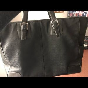 Coach tote/diaper bag